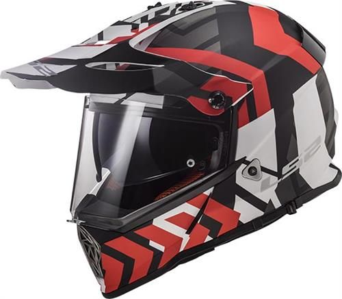 LS2 Pioneer Solid Full Face Motorcycle Helmet with Sunshield