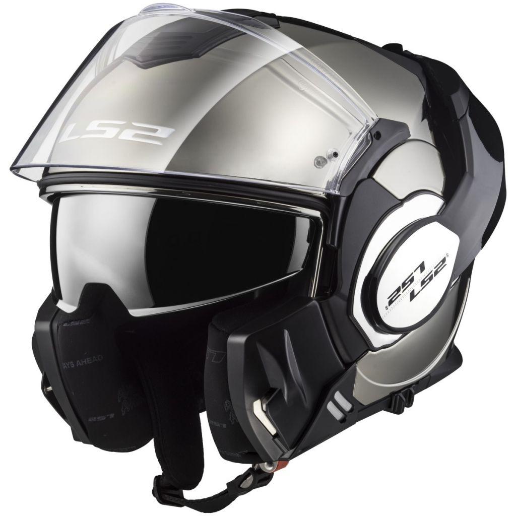 LS2 Helmets Visor for OF569 Helmets Chrome