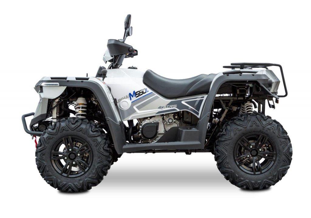 Linhai ATV M550L EPS EFI 4x4 AR, white, euro 4