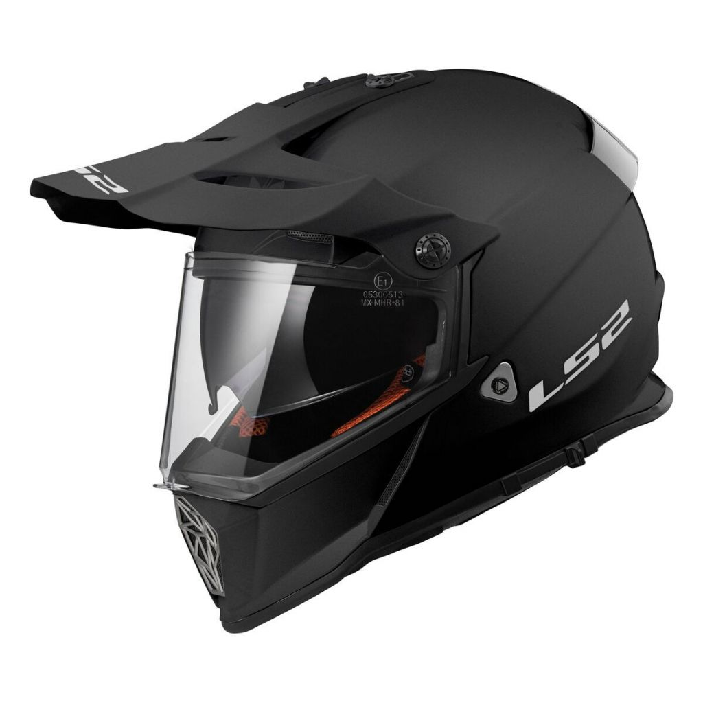 LS2 MX436 Pioneer V2 Solid Motorcycle Helmet Visor Replacement Face Shield Clear